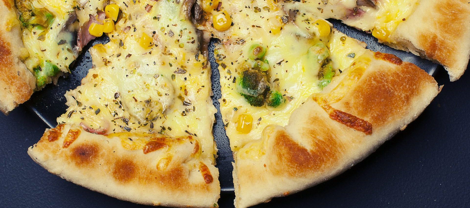 Garden Ranch Pizza with Corn