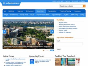 Portfolio - Arlington County Government